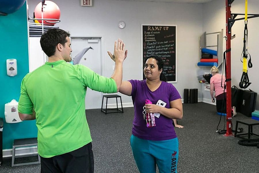 Give Yourself A High Five! | True 180 Personal Training for Women