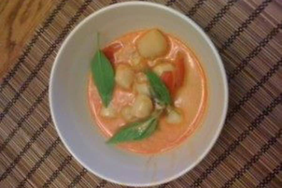 Thai Curry Scallops | True 180 Personal Training for Women