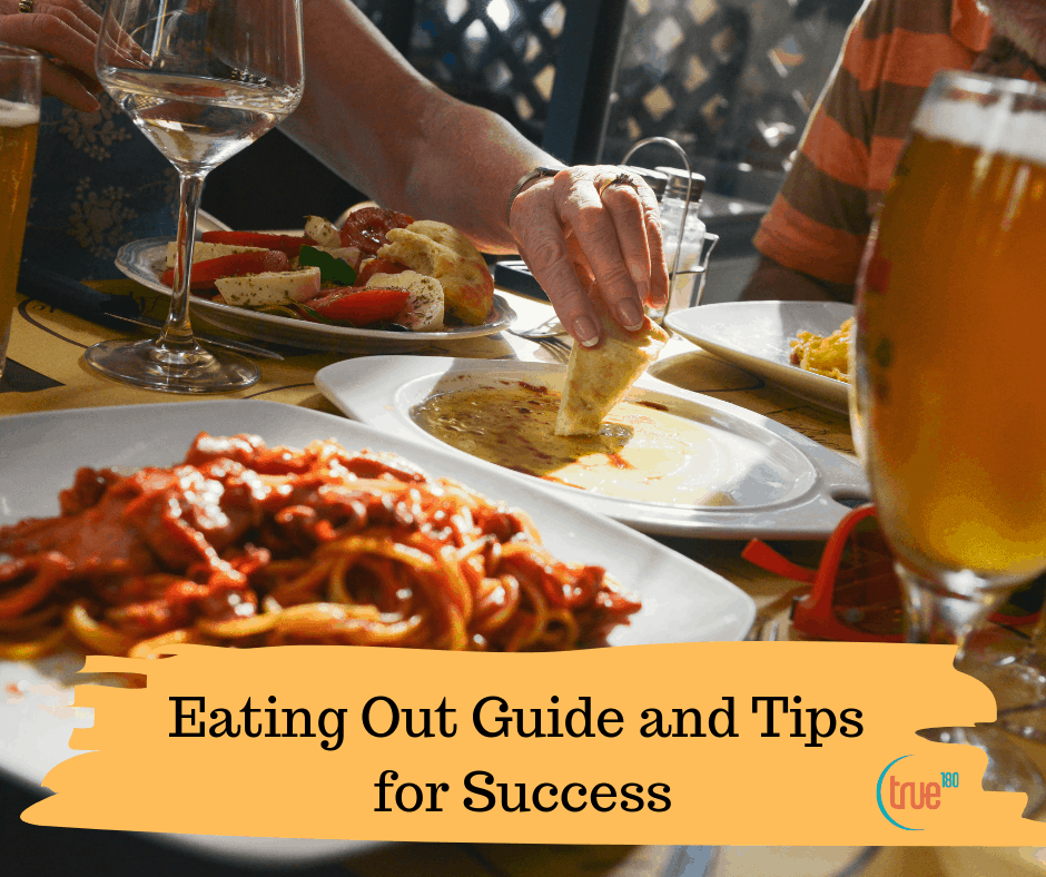Eating out with friends, and how to keep the diet