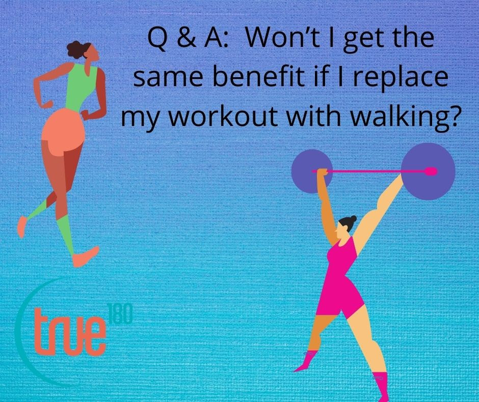 Can You Replace a Workout with Walking