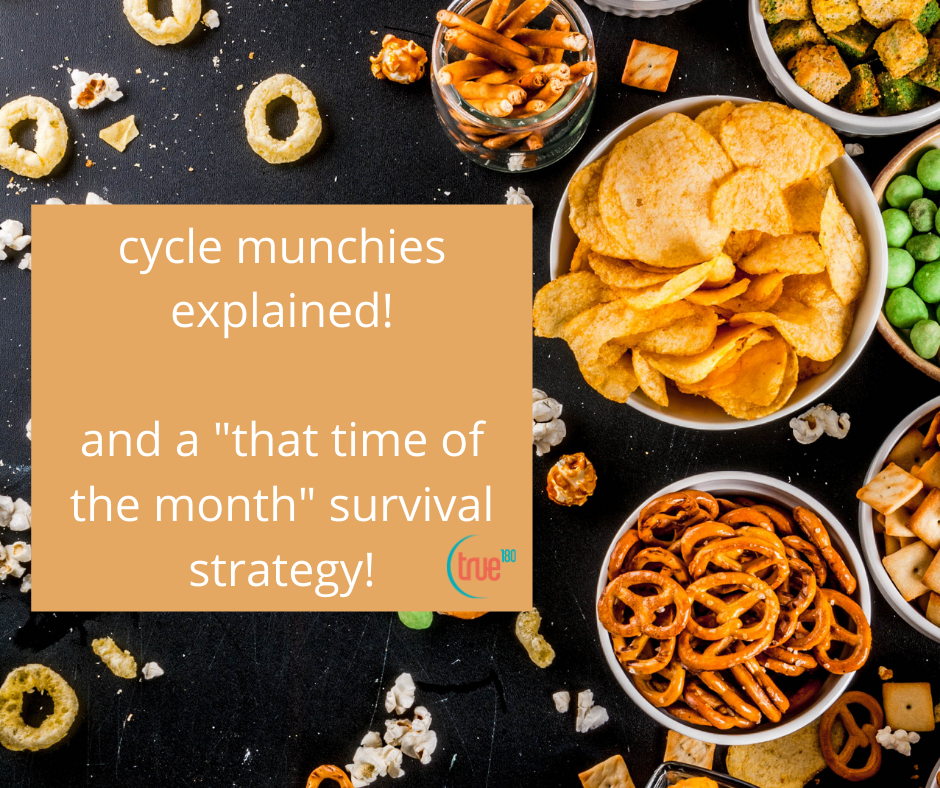 Time of the Month Munchies Explained by Ballantyne Personal Trainer for Women
