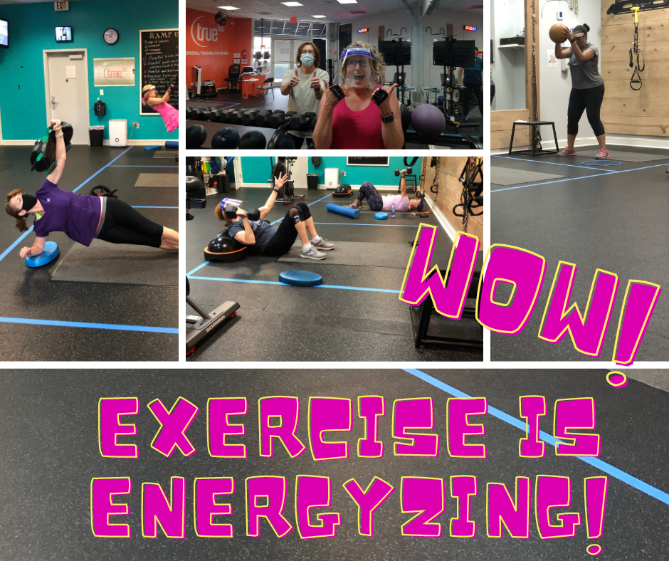 Energized by Exercise