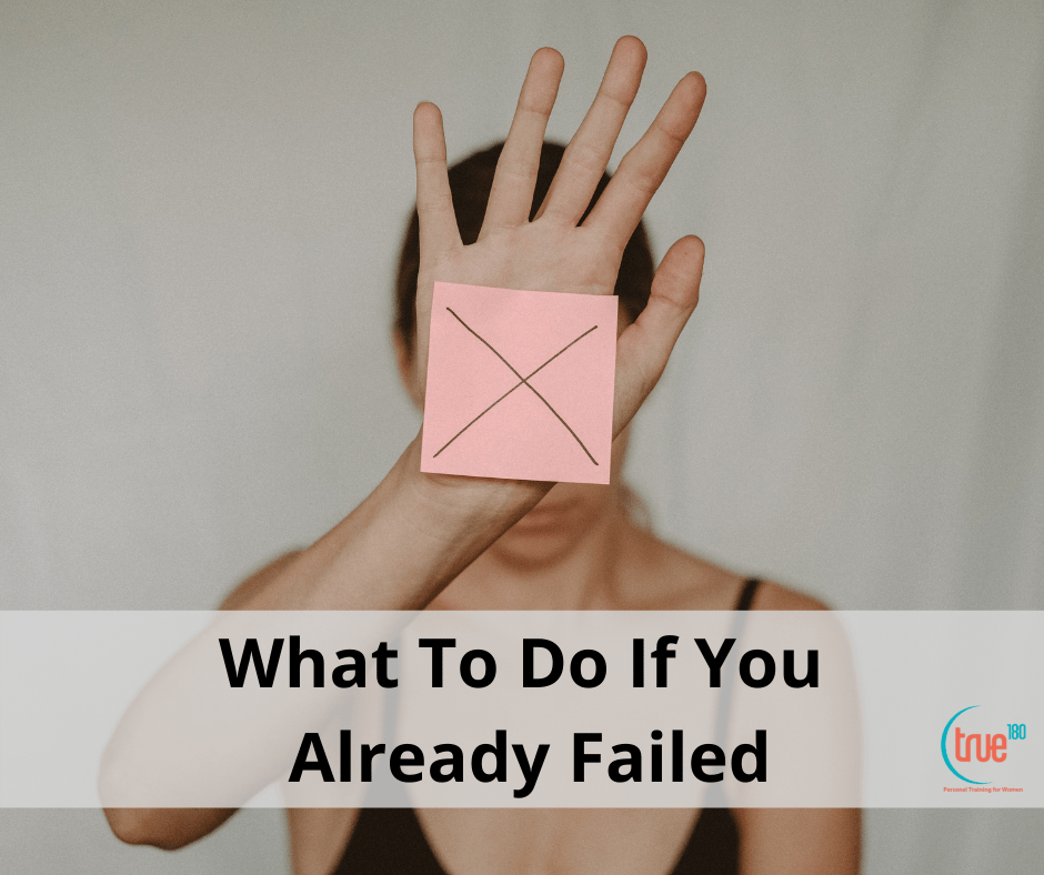 What To Do If You Already Failed